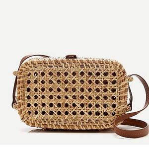 J.crew Wicker crossbody bag AN893